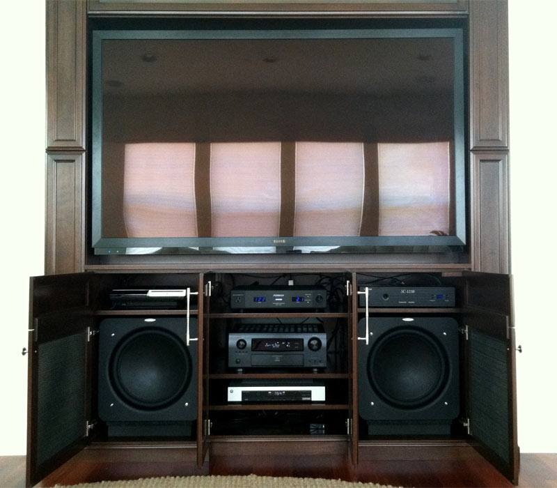 Home Theater With Systems Integration
