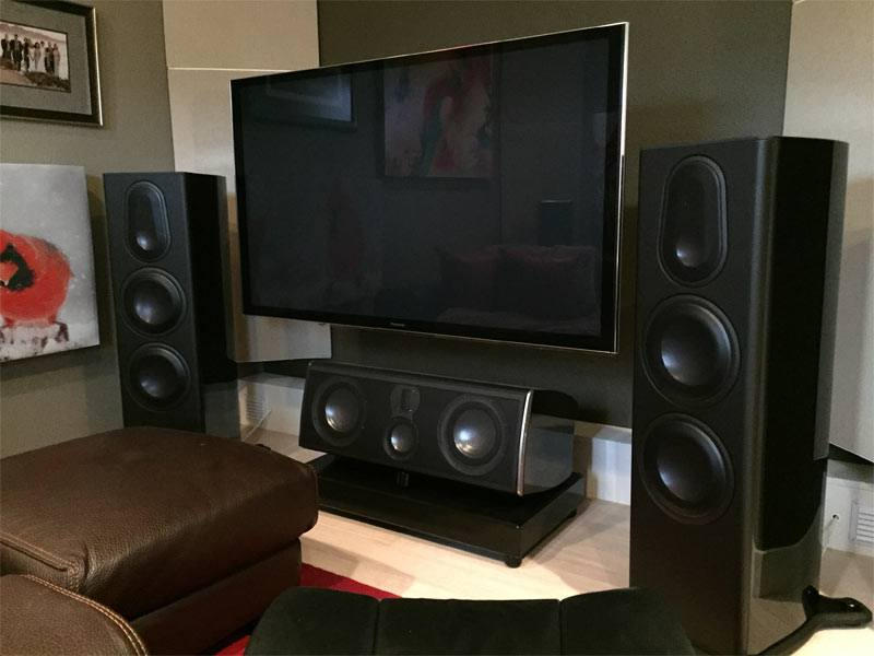 Dedicated Home Theater With Acoustic Treatment